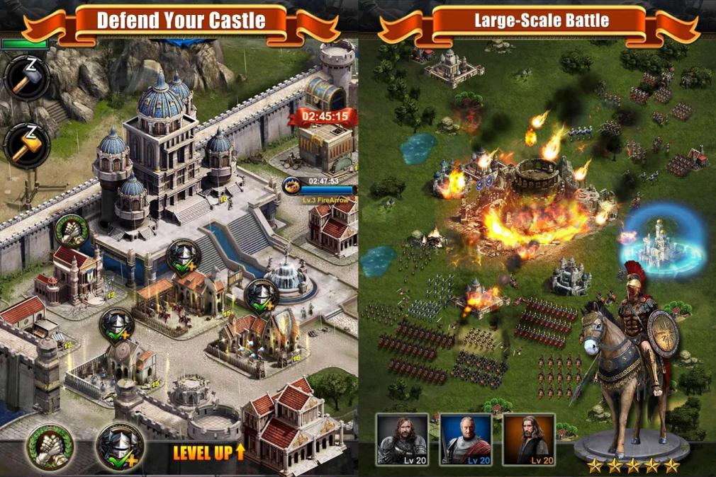 Скачать игру clash of kings на пк