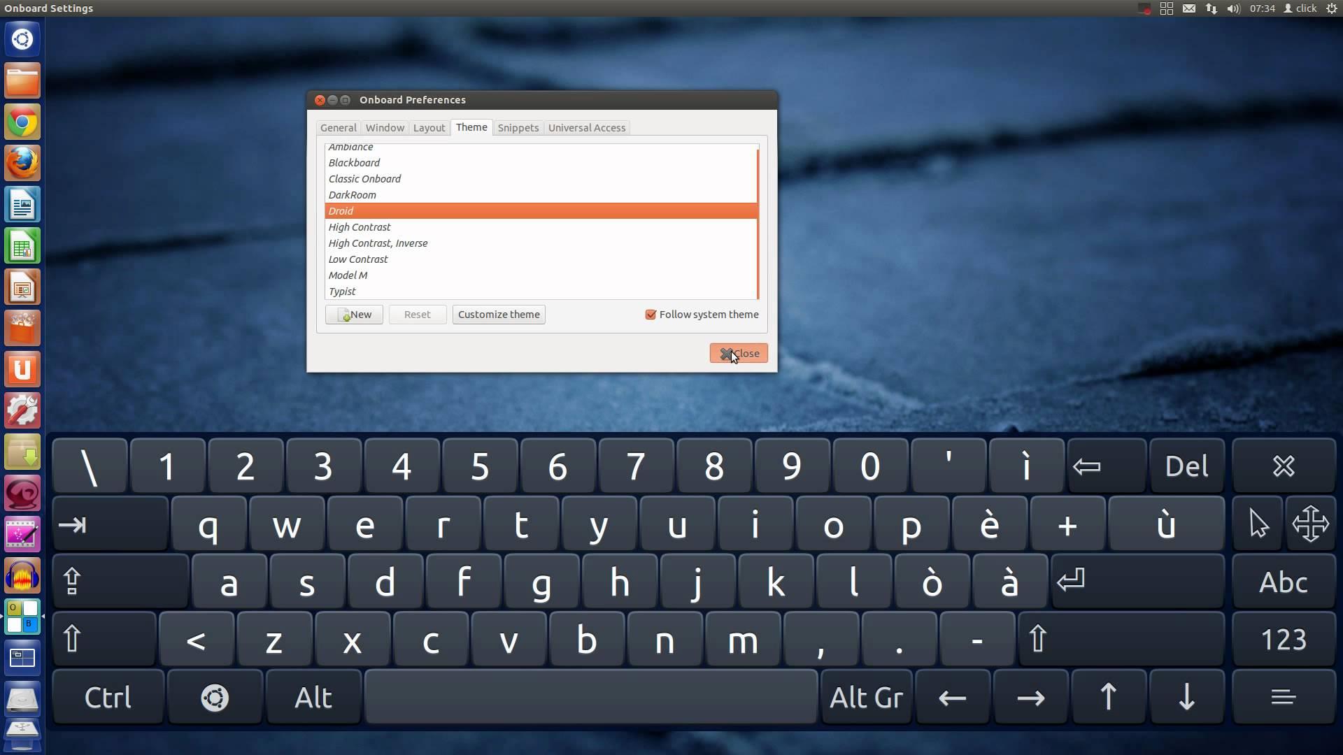 Как сделать чтобы на планшете была клавиатура 648